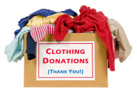 Clothing Donations?  Click here for a donation dropoff opportunity May 18 & 19