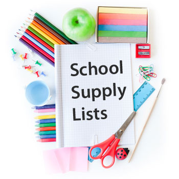 TMS School Supply List for 2017-18