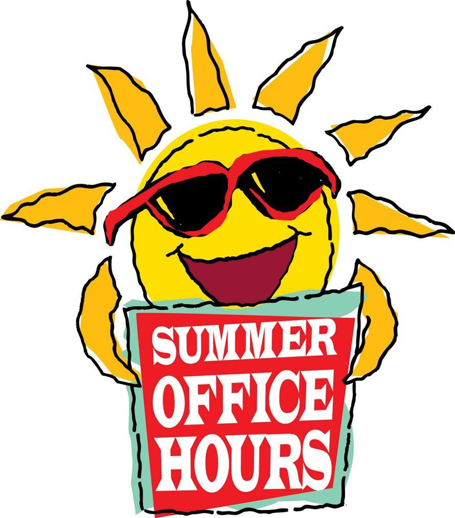 TMS Summer Office Hours & Services