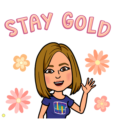 Stay Gold Bitmoji