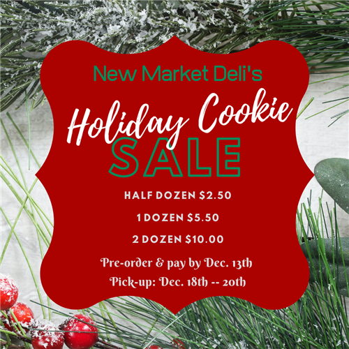 Holiday Cookie Sale