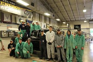 Collision Repair Students