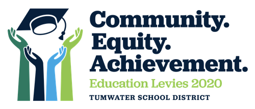 Education Levies 2020 logo - Community. Equity. Achievement