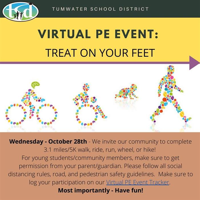 Virtual PE Event - Treat on Your Feet