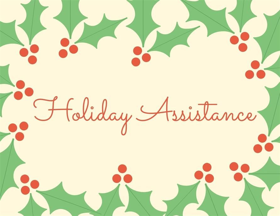 Holiday Assistance Program