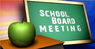 Interested in attending a School Board Meeting?