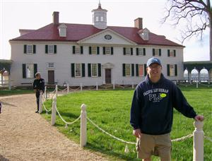 Mr. Wimsett at Mount Vernon