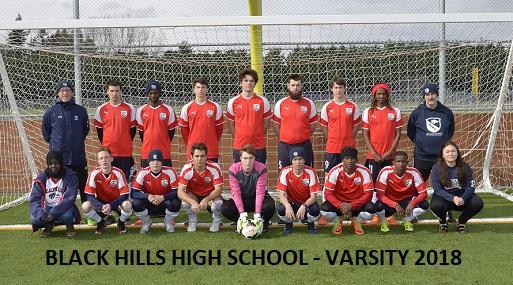 BHHS Varsity Team 2018