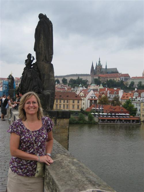 This picture was taken in Prague, Czech Republic.