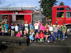 Fire Fighter Visit